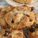 36474281 - rock cakes light crumbly cakes filled with dried fruit