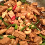 chicken and cashew nuts