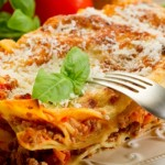 10426577 - italian lasagne  with ragout