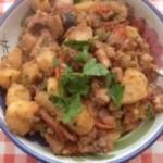 tasty octopus stew