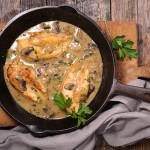 51592579 - chicken with sauce