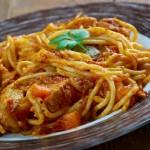 58618527 - spaghetti meat sauce - al ragu di manzo