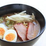 42190276 - roasted pork and ramen noodle