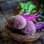 29157885 - beetroot on wooden background